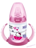 NUK Hello Kitty first choice 150 ml tanulópohár / cumisüveg