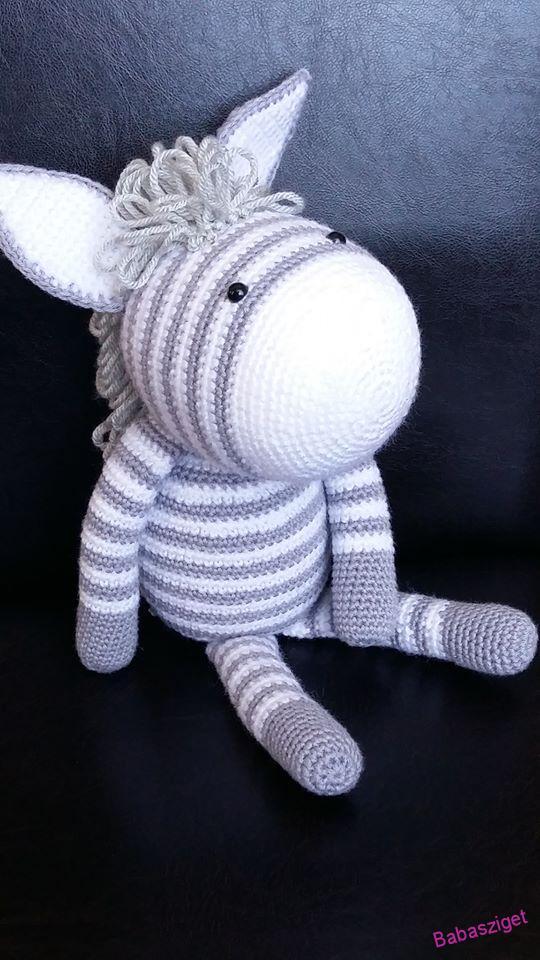 Zizi a zebra   Nemezelés, Kreatív és Horgolás   960x540